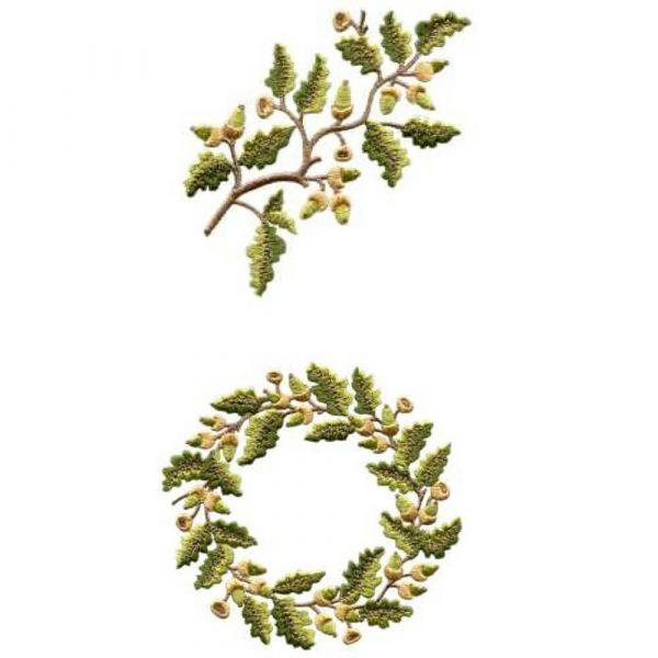 Acorn Wreath & Acorn Branch