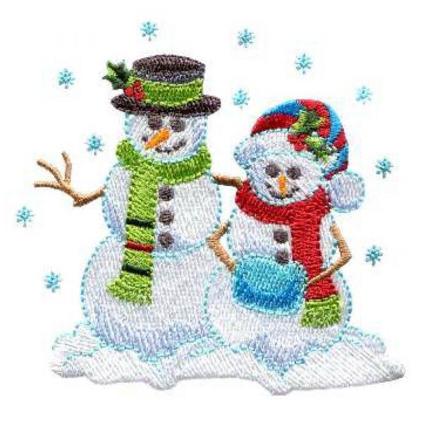 Mittens and Snowman & Snowwoman
