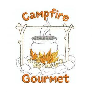 Animated S'mores and Campfire Gourmet