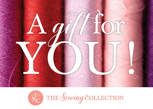 Sewing Collection Gift Card For You