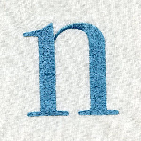 Hoffman Serif Alphabet