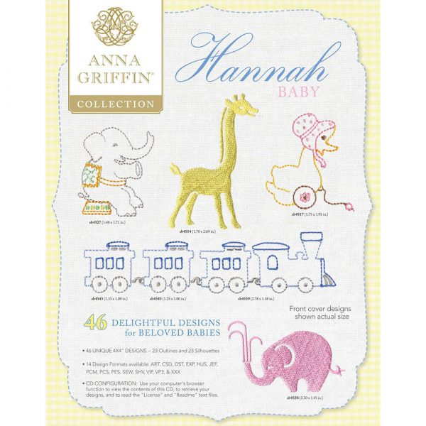 Hannah Baby Collection by Anna Griffin - Download